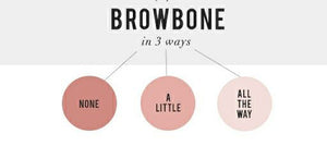 BROWBONE WORN 3 WAYS