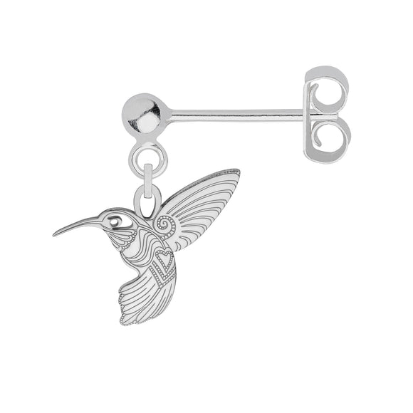 Hummingbird Single Earring