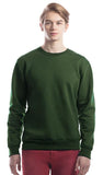 North Bay Unisex ADULT Crewneck Sweater (Forest Green)