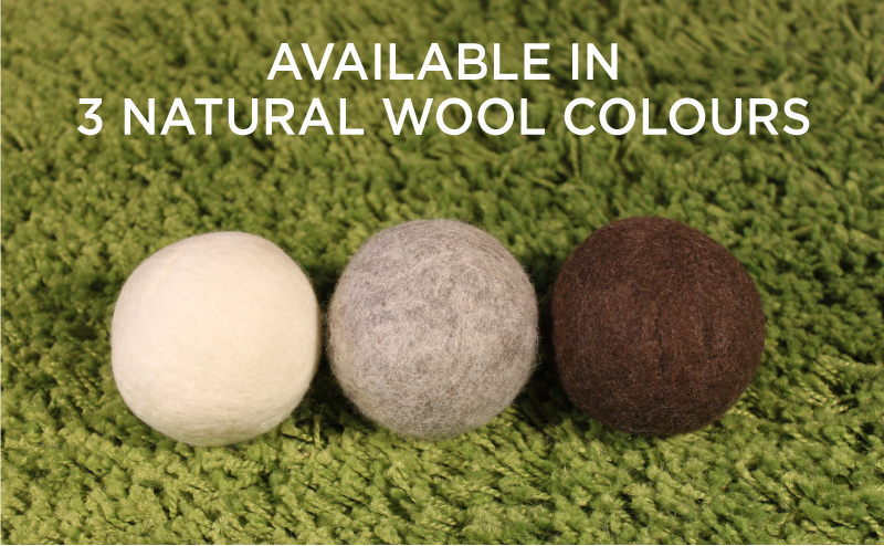 Moss Creek - Bulk Felted Wool Dryer Balls