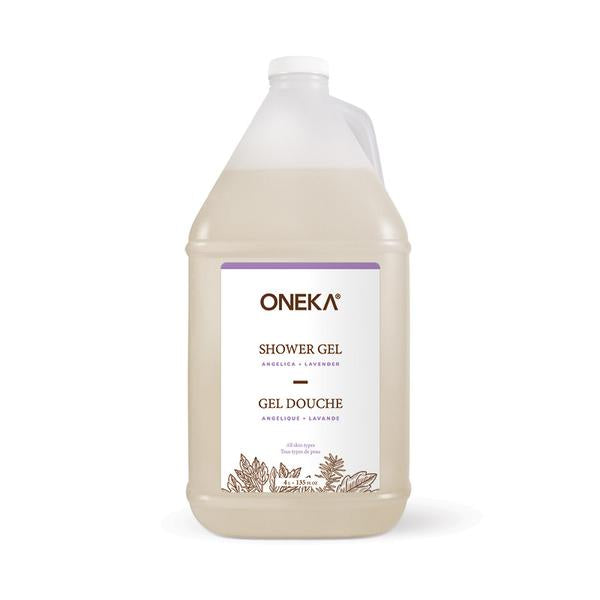 Oneka - Angelica + Lavender Shower Gel (4L)