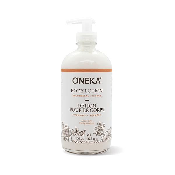 Oneka - Goldenseal + Citrus Body Lotion (475ml)