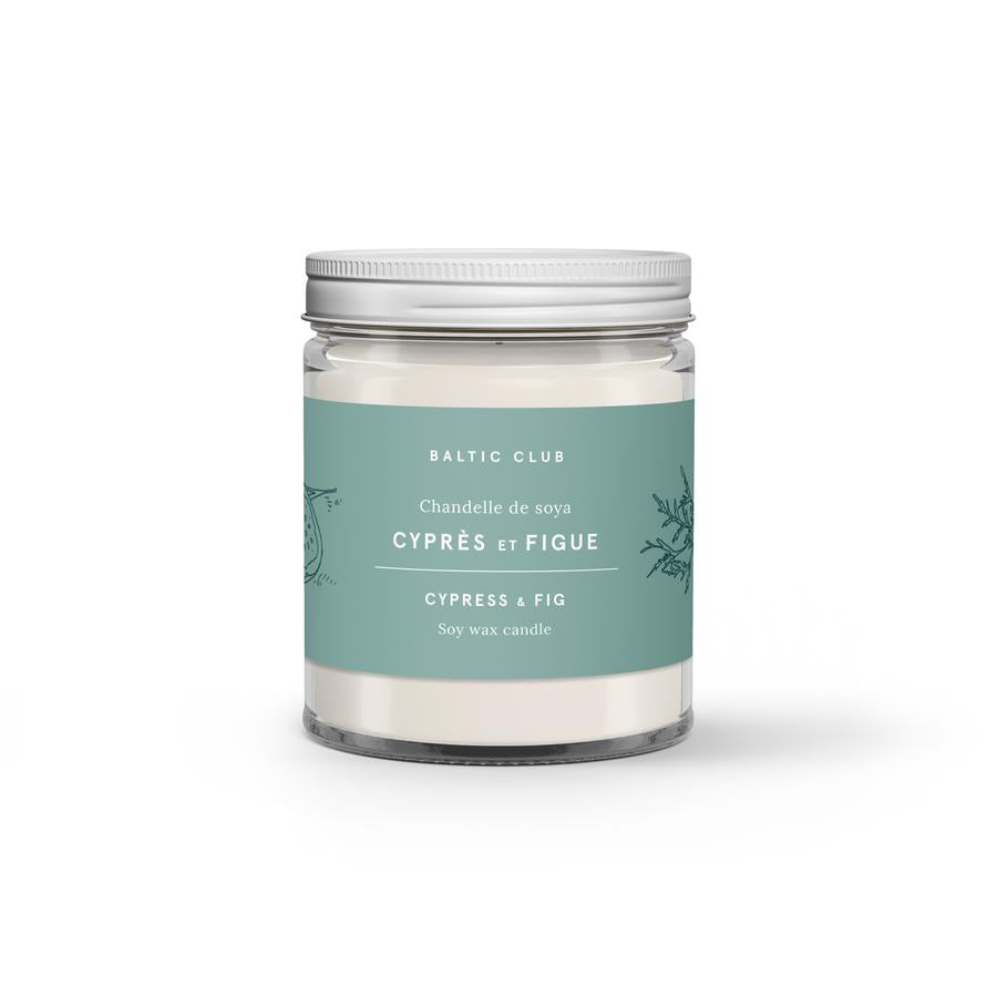Baltic Club - Cypress & Fig Soy Candle
