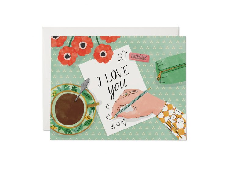 Red Cap Cards - Love Note Card