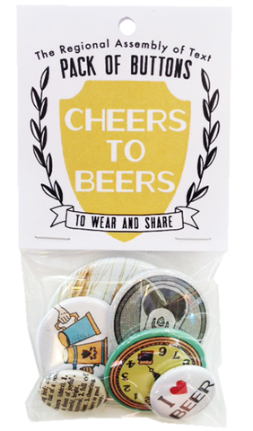 Regional Assembly of Text - Beer button pack