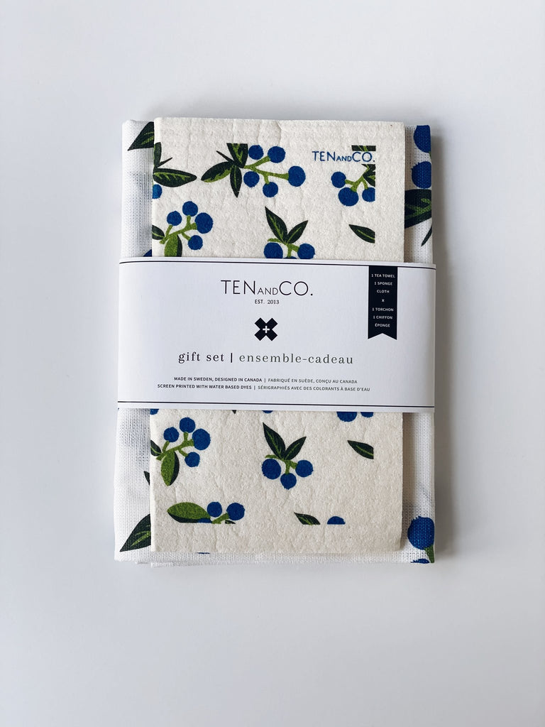 Ten and Co - Blueberry Gift Set