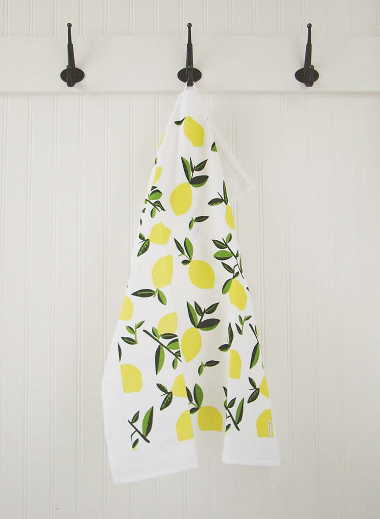 Ten and Co - Citrus Lemon Tea Towel