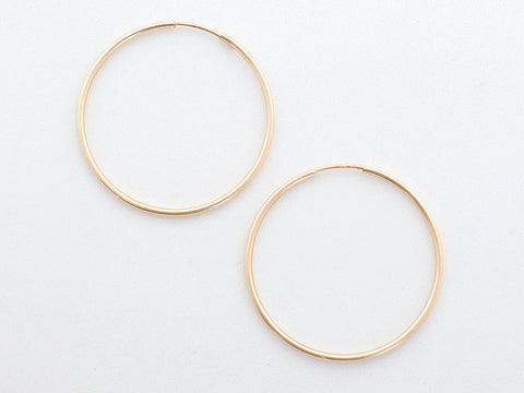 Jen Ellis - Large Hoop Earrings