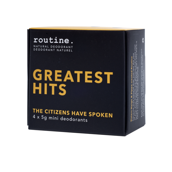 Routine - GREATEST HITS Mini Cream Deodorant Kit