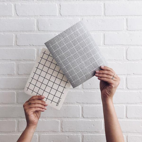 Ten and Co - Grid Sponge Cloth