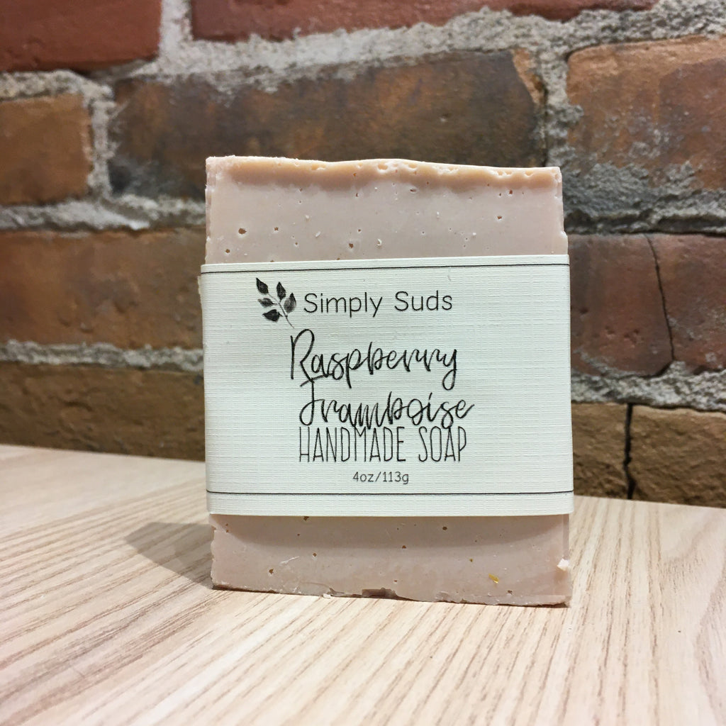 Simply Suds - Raspberry Bar Soap