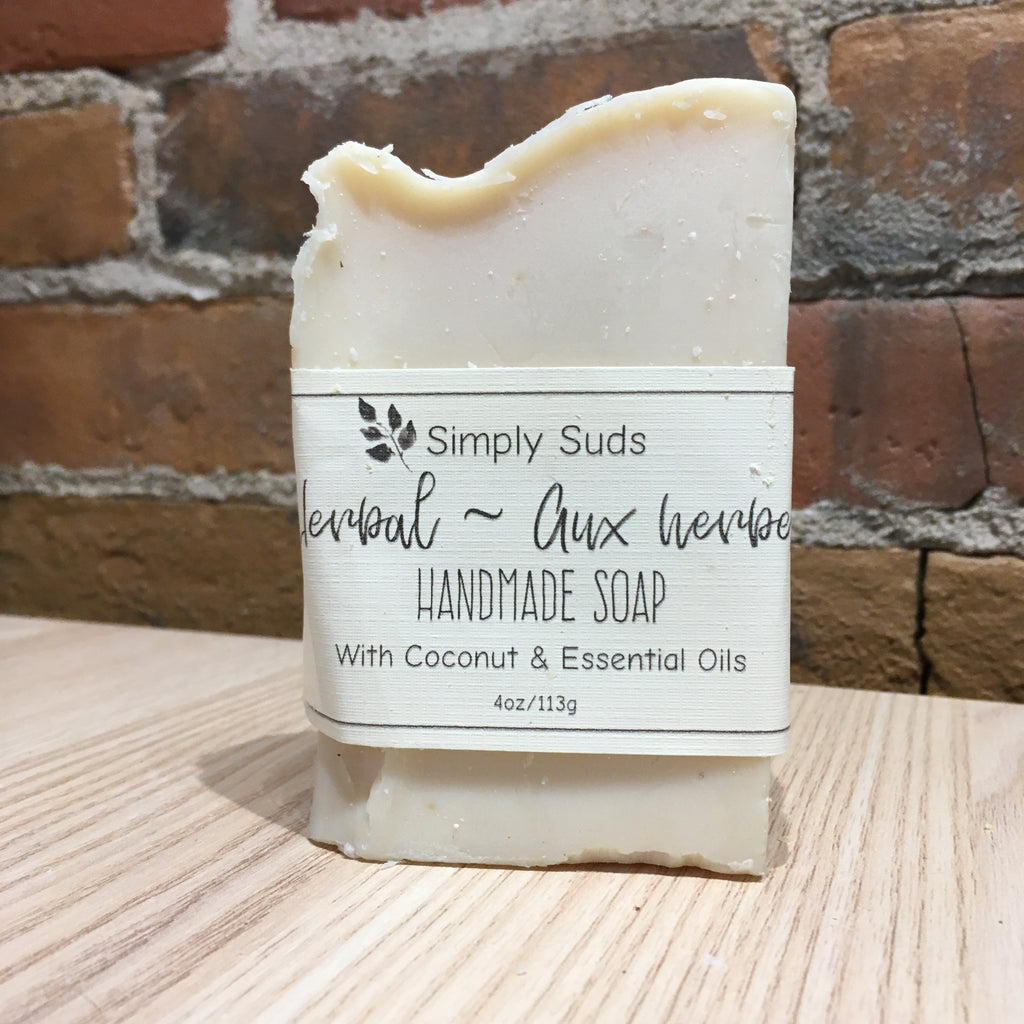 Simply Suds - Herbal Bar Soap