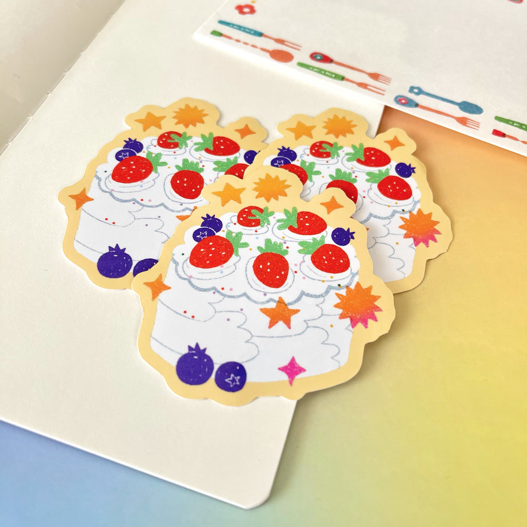 Maddy Young - Strawberry Shortcake Vinyl Sticker
