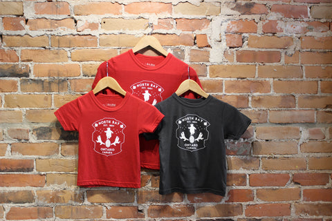 The Farm - North Bay T-Shirt - Youth (Red)