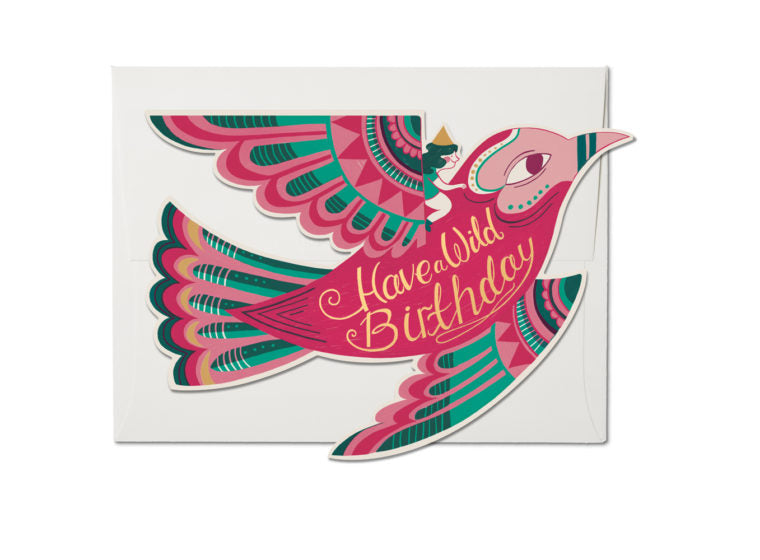 Red Cap Cards - Wild Birthday Card