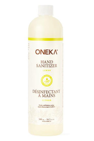Oneka - Lemon Hand Sanitizer Refill (500ml)