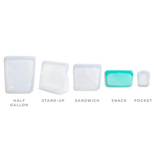 Stasher - Reusable Silicone Snack Bag (Clear)