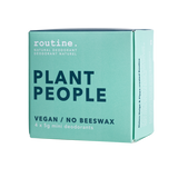 Routine - PLANT PEOPLE Mini Cream Deodorant Kit