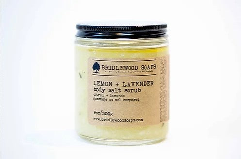 Bridlewood Soaps - Lemon & Lavender Body Scrub