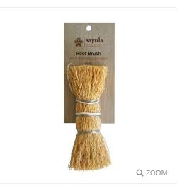 Sayula - Root Brush Pot & Veggie Scraper