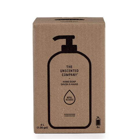Unscented Company - Hand Soap 4L Refill Box