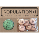 Regional Assembly of Text - Population Button set