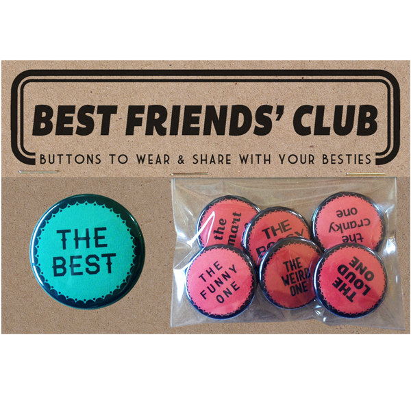 The Regional Assembly of Text - Friends Button Set