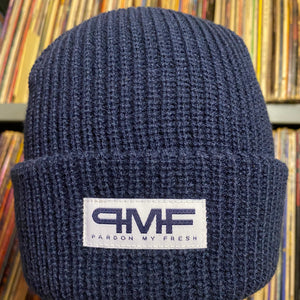 Pardon My Fresh | Navy Beanie