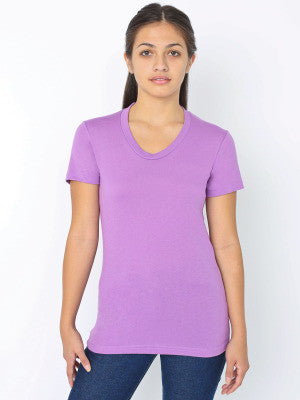 Poly-Cotton Short Sleeve Women'sT