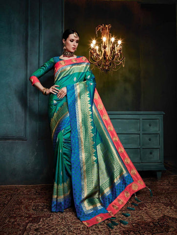 Banarasi Silk Saree-Design BNS020