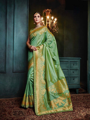 Banarasi Silk Saree-Design BNS022