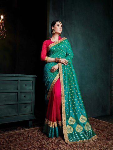 Banarasi Silk Saree-Design BNS023