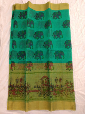 Pure Kota Cotton Printed Saree Design-KOTASRE034