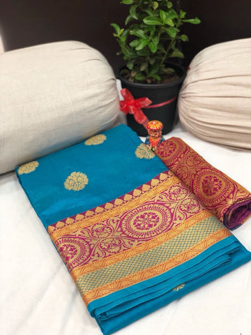 Soft Silk Saree-SSSRE030