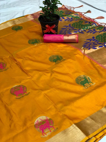 Soft Silk Saree-SSSRE038