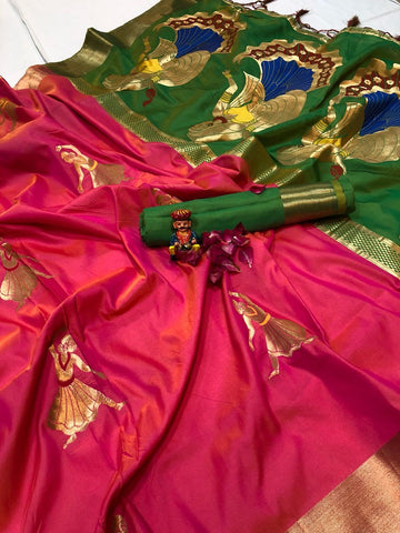 Soft Silk Saree-SSSRE040