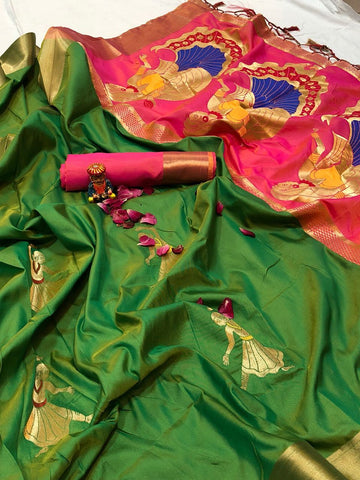 Soft Silk Saree-SSSRE042