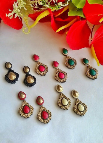 Classy Terracotta Earrings