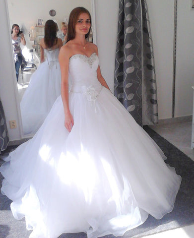 Organza Bridal Gown