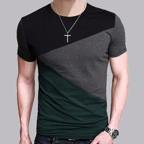 Slim Fit Crew Neck Tshirt - Model BRSR005
