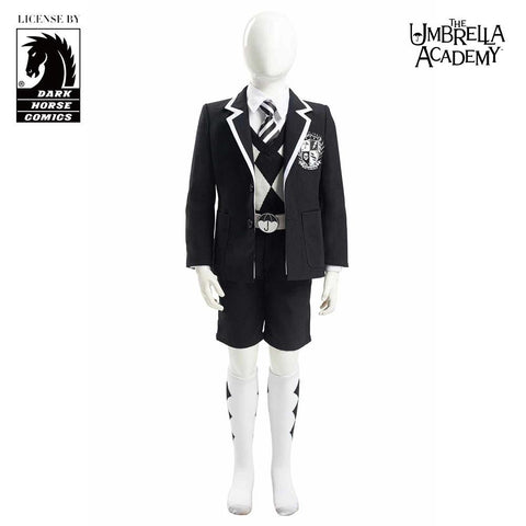 The Umbrella Academy The Boy Number Five Cosplay Costume for Kids Children