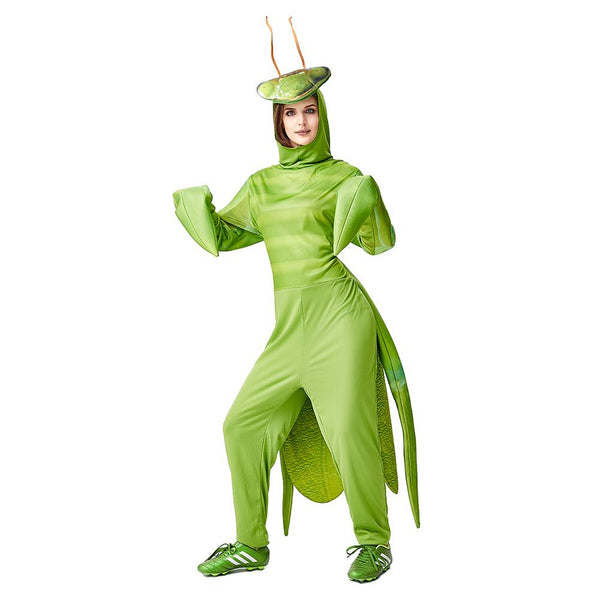 Adult Unisex Halloween Costume Mantis Costume Fantasia Funny Cosplay Animal Insect Christmas Carnival Party Outfit