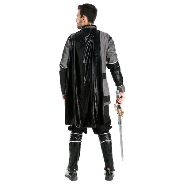 Men Halloween Greek Warrior Assassin Costume Rome Emperor Cosplay Costume Fancy Outfit Whole Set