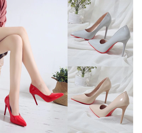 High Heel Pointed Toe Pumps