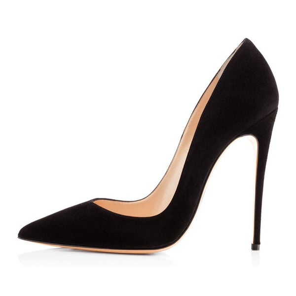 Onlymaker Pointed Toe Stiletto Heel Pumps 12cm heels