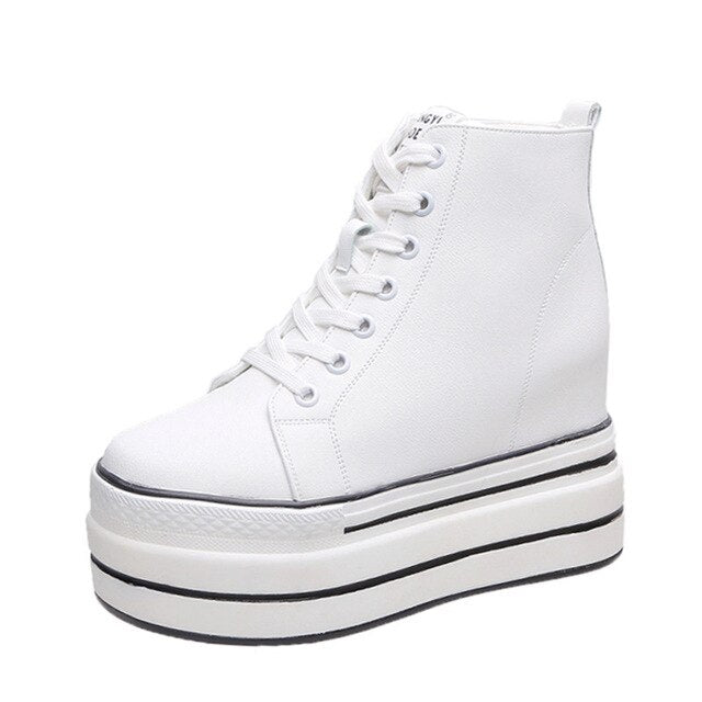 High Platform Sneakers Wedges