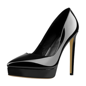 Onlymaker Platform Pointed Toe Stiletto Heel Pumps
