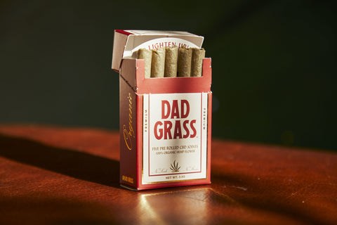 Dad Grass Hemp CBD Preroll Five Pack