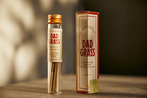 Dad Grass Hemp CBD Preroll Twoobie