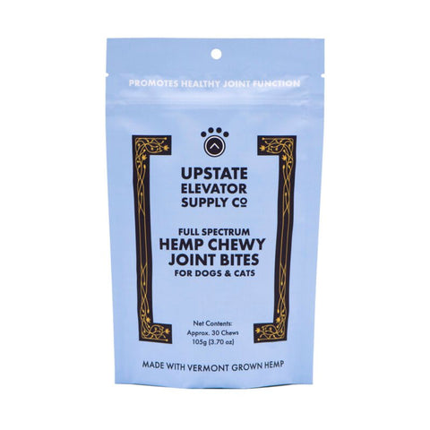 Upstate Elevator CBD Chewy Joint Bites for Pets - 30 ct